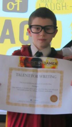 Student wins poetry competition