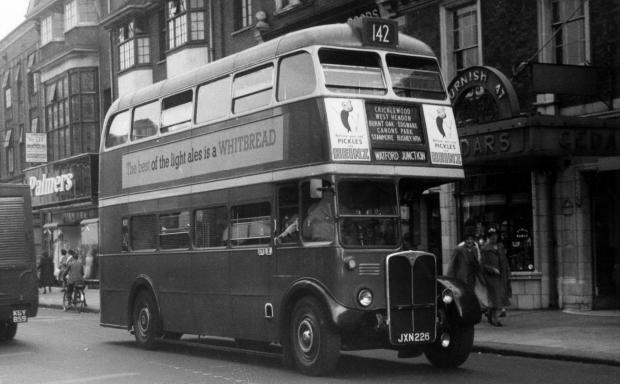 Celebrate 100 years of the 142 bus route