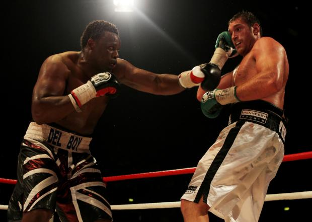 The two fighters squared off in 2011. Picture: Action Images