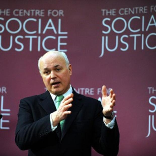 Times Series: Iain Duncan Smith launched the Centre for Social Justice when he was Conservative leader a decade ago