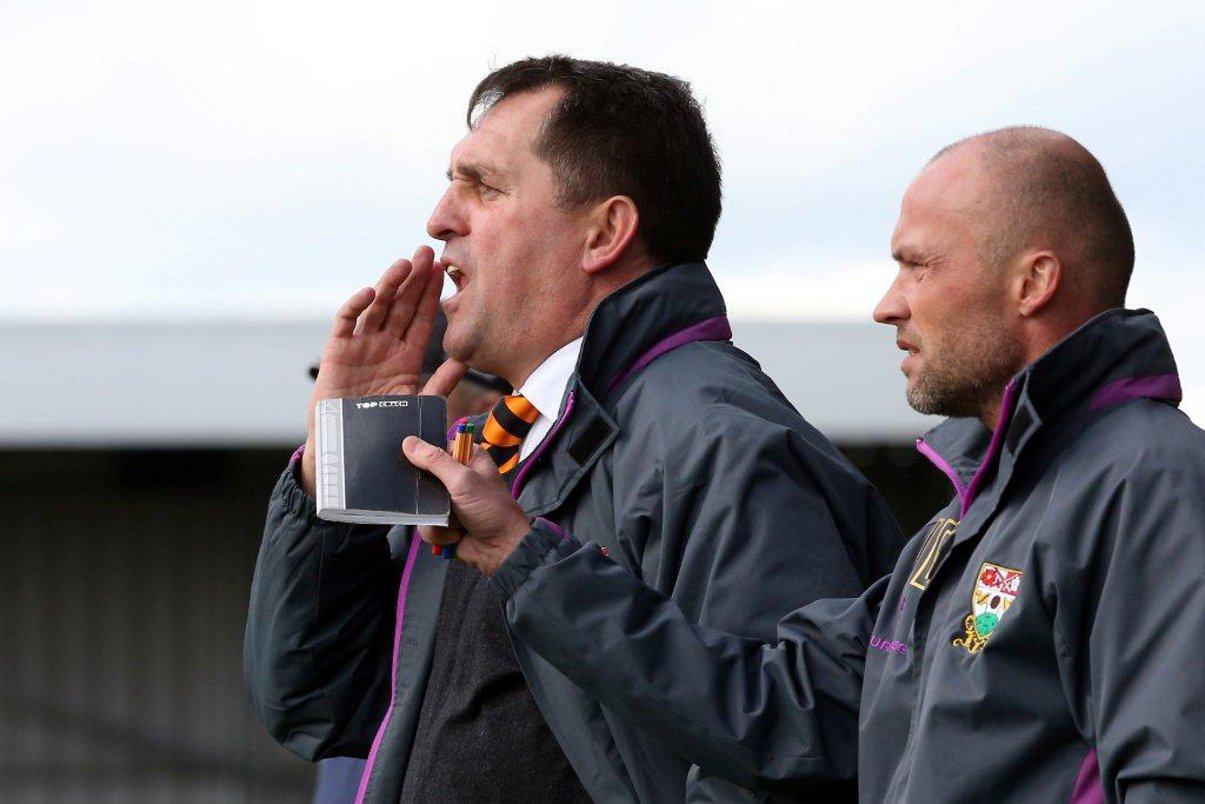 Martin Allen makes one change ahead of tonight's clash at Southport. Picture: Action Images