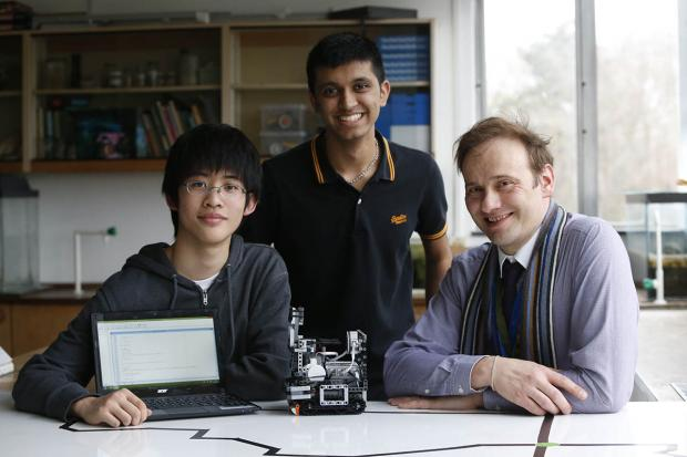 Times Series: Students to take wacky robot creation to competition in Brazil