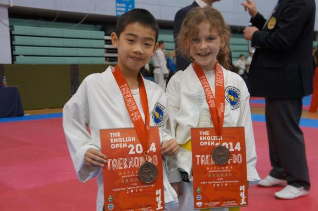 Finchley duo deal bronze at English Championships