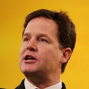Nick Clegg will tell the Scottish Lib Dem conference that there is an 'ever hardening cons