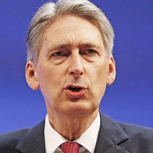 Philip Hammond said UK forces were stepping up their inv