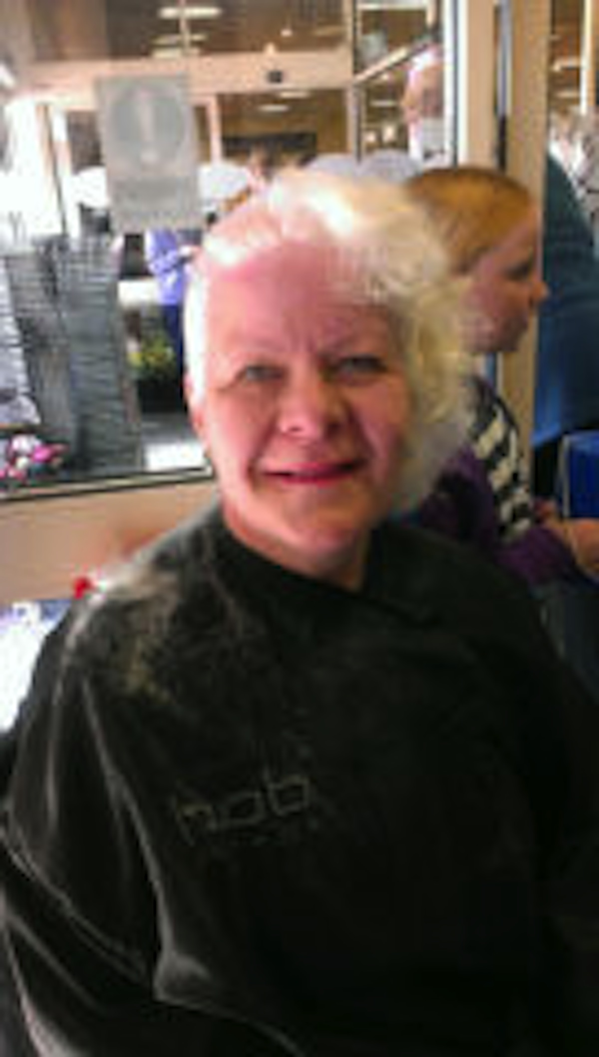 Pollyanna Boothby Tucker had her head shaved to raise money for the North London Hospice