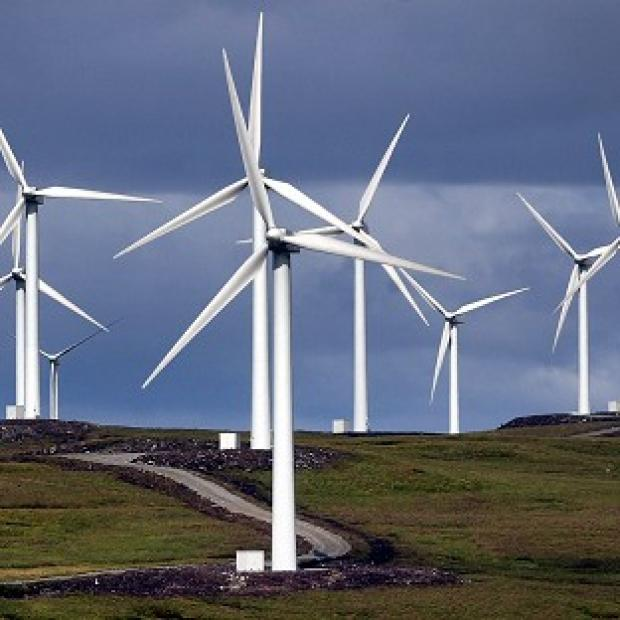 Times Series: Rural wind farms have been a source of coalition tension