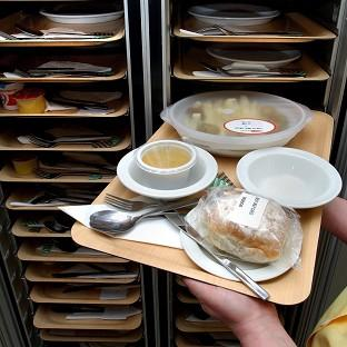 Government ministers and prisoners could get better food than hospital patients, it is claimed.