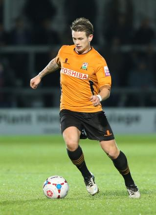 Mark Byrne scored five times in 37 appearances for Barnet last term. Picture: Dave Peters