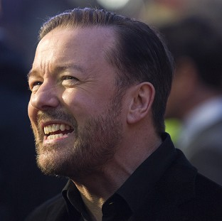 Office star Ricky Gervais revealed he has been offered a  Glastonbury Festival slot and that he is pro-euthanasia, joking that he hopes one day he can ask a chemist for a pill to die