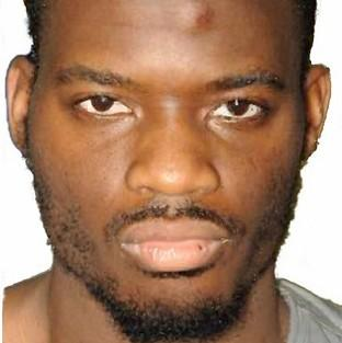 Times Series: Michael Adebolajo has launched an appeal against his whole-life prison sentence for the murder of soldier Lee Rigby (Metropolitan Police)