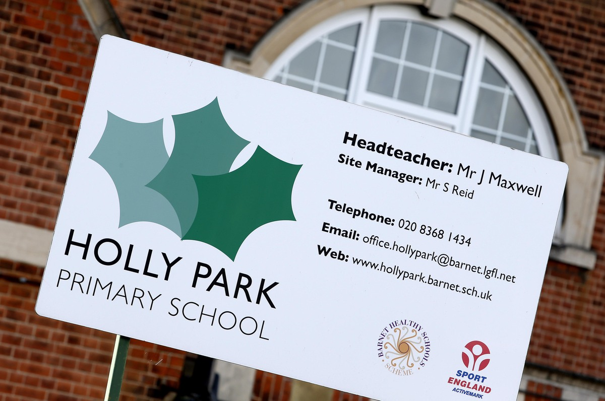 Holly Park Primary School was handed a 'zero' out of five rating by inspectors, meaning 'urgent improvement necessary'