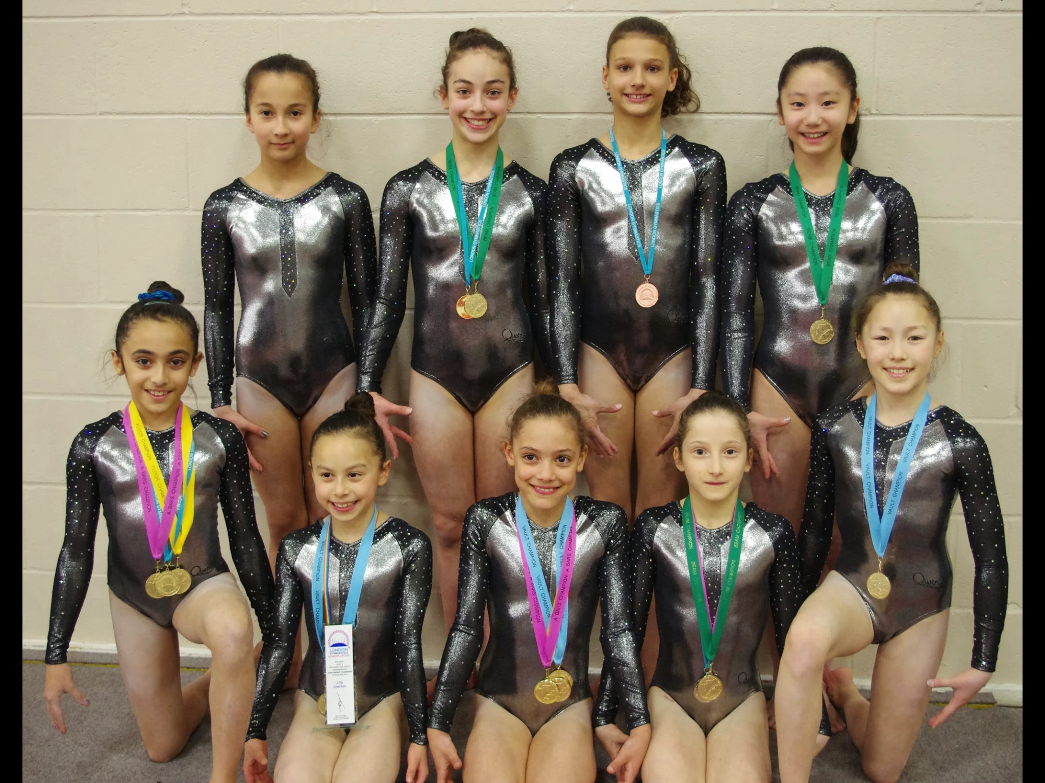 Eight Hendon gymnasts to represent London at Nationals