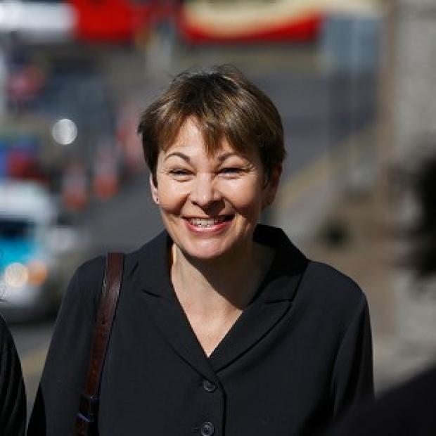 Times Series: Green MP Caroline Lucas arrives at Brighton Magistrates' Court