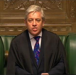 "Times Series: John Bercow says Parliament is ""spray painting its own shop window"""
