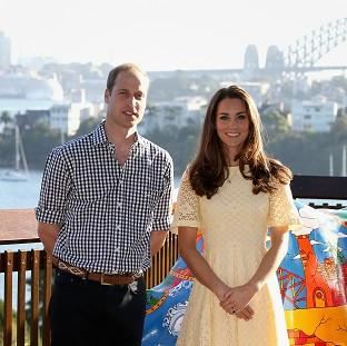 Times Series: The Duke and Duchess of Cambridge are on a three-week tour of Australia and New Zealand