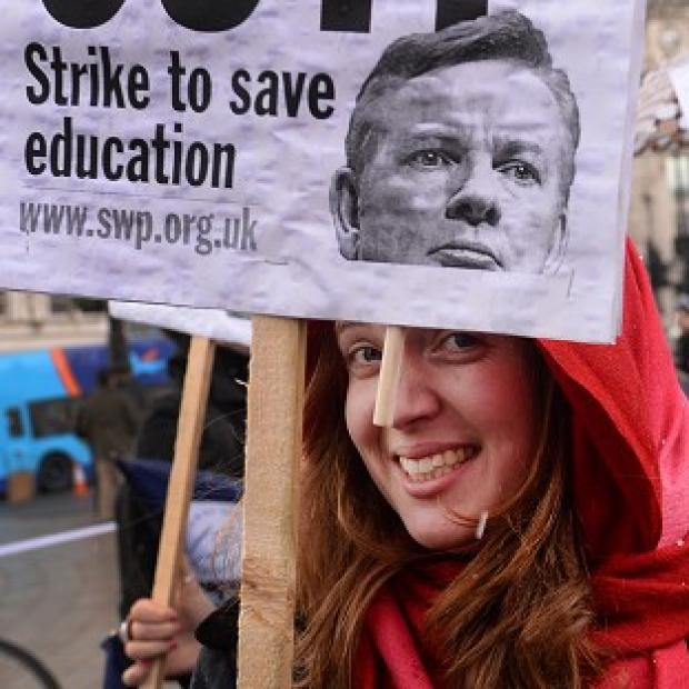 Times Series: Schools are to face widespread disruption after teachers voted to stage further strikes