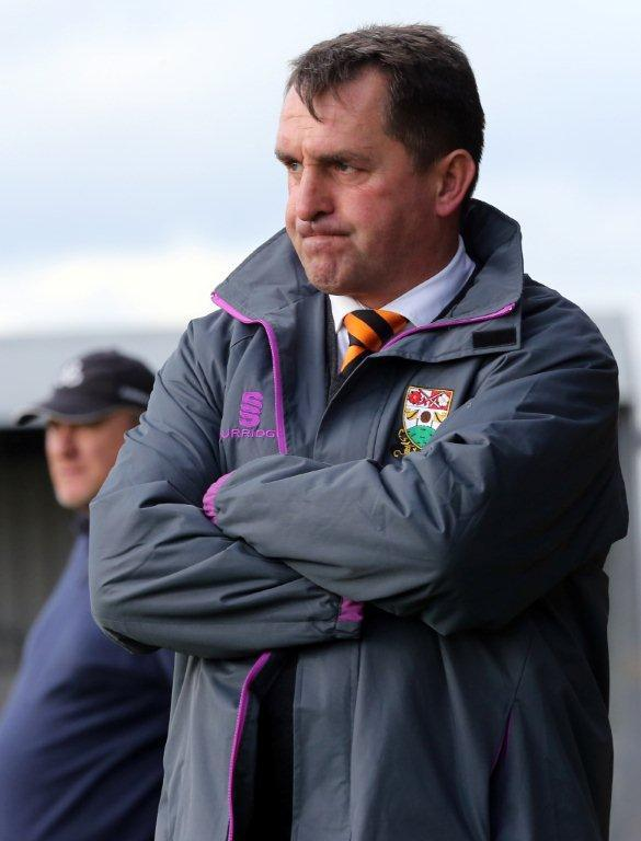 Bees head coach Martin Allen. Picture: Dave Peters