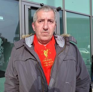 Ronnie Gilhooley, whose son Jon-Paul was the youngest victim of the Hillsborough disaster