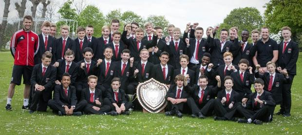 Times Series: Boys from Mount Grace School in Potters Bar won two trophies in this year's County Cup.