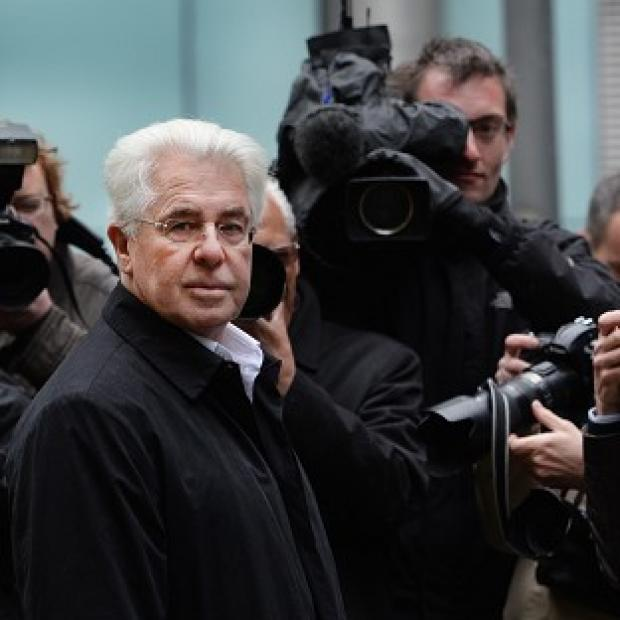 Times Series: Publicist Max Clifford arriving at Southwark Crown Court in London