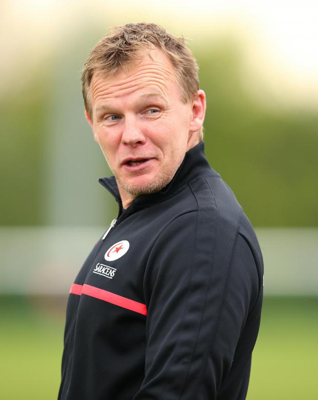 Times Series: Mark McCall guided Saracens to their first-ever Heineken Cup final with victory over Clermont on Saturday. Picture: Action Images