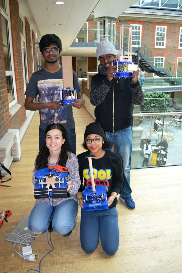 Times Series: Students from as far away as Germany and Tunisia took part in this year's Eurobot contest.