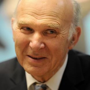 Vince Cable said he was confident that work on developing individual sectors of industry had cross-party support