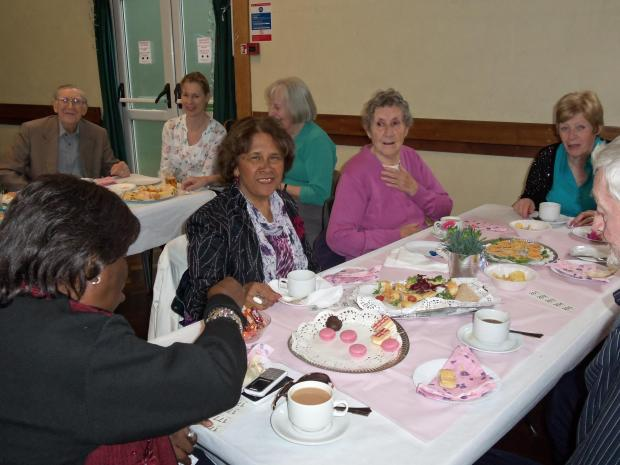 Times Series: Church hall packed out at tea dance