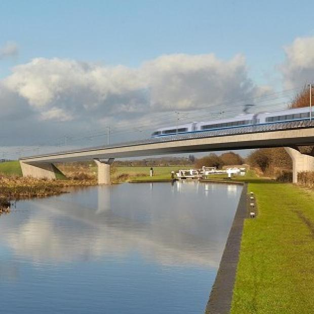 Times Series: The CPRE wants to see a more ambitious approach to protecting the landscape along the HS2 London to Birmingham line