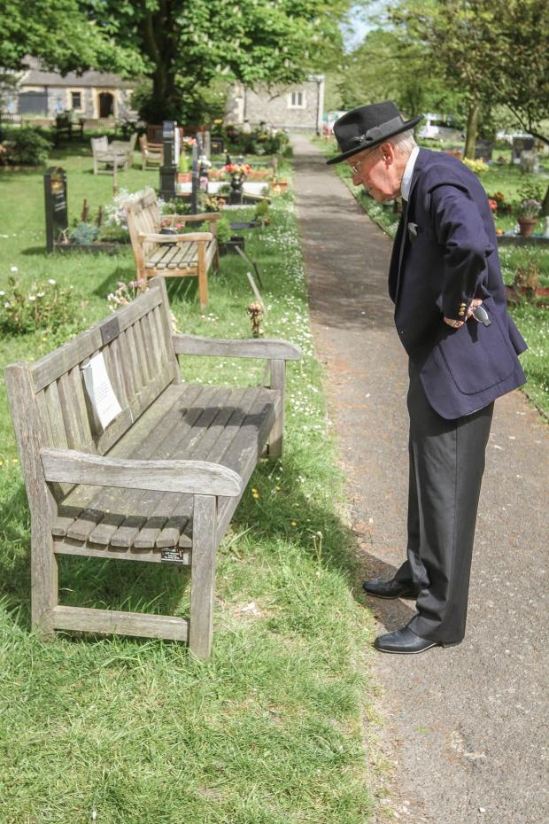 Times Series: 'Disgusting' - anger as memorial benches removed from crematorium