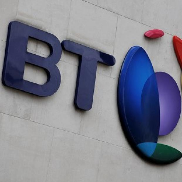 Times Series: BT said it added 170,000 retail broadband customers in the first three months of this year
