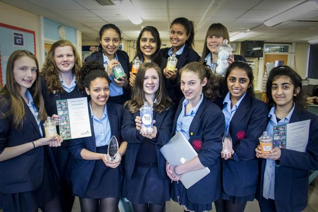 Teenagers make it to the final of Young Enterprise contest