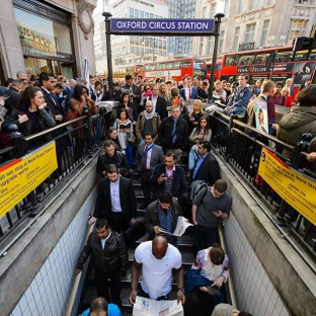 Times Series: The recent tube strike caused huge disruption