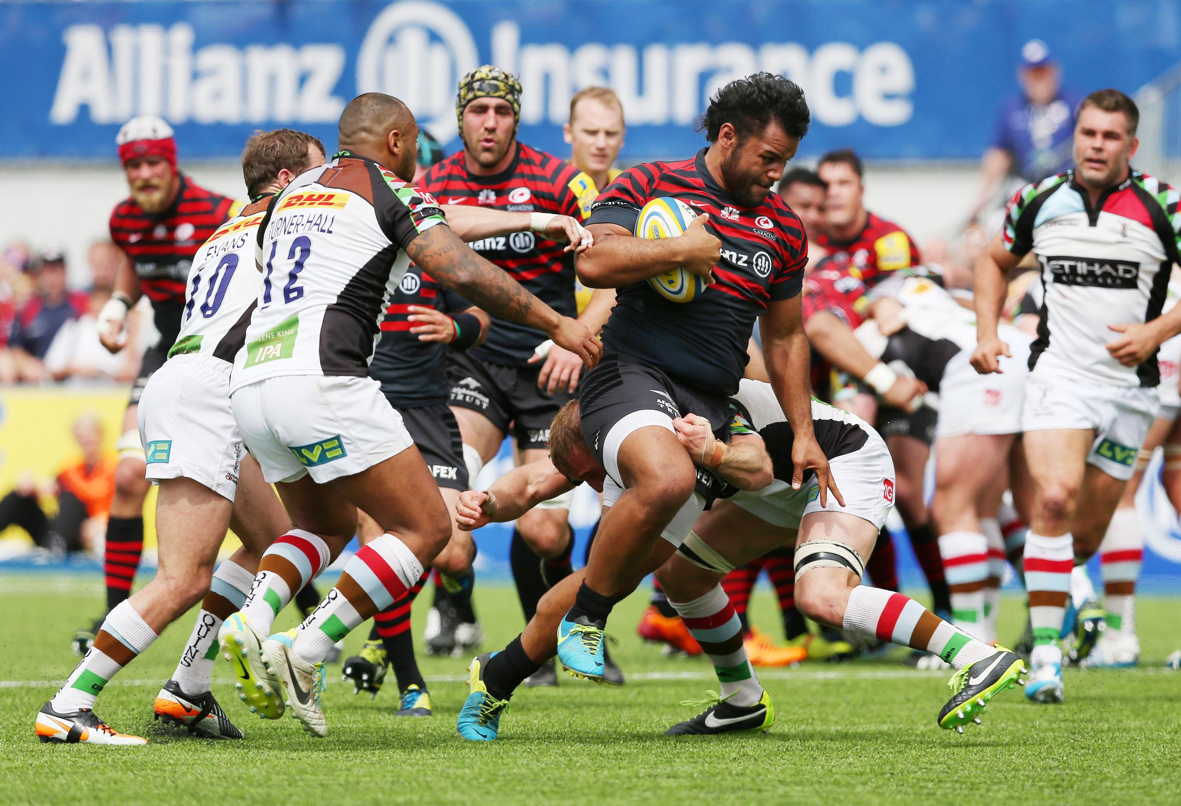 Billy Vunipola joined Saracens in September.