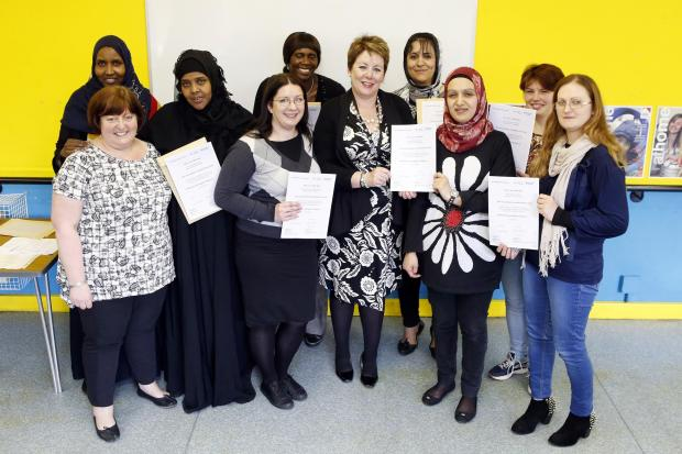 Barnet Homes' residents become 'role models' after course