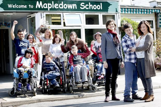 Parents celebrated when Mapledown's funding was restored - but many schemes are still in the dark about what the future might hold