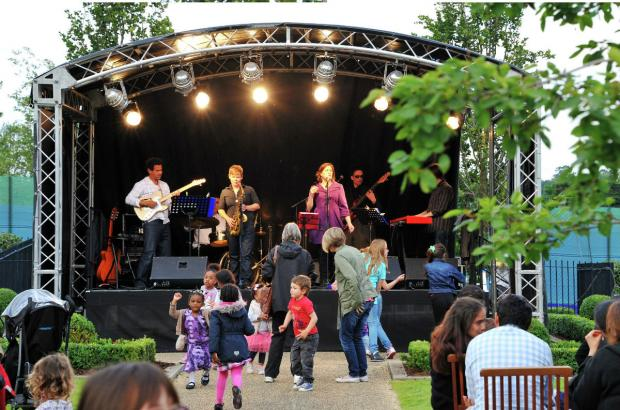 Concert in the Park will take place from 4pm to 9pm today