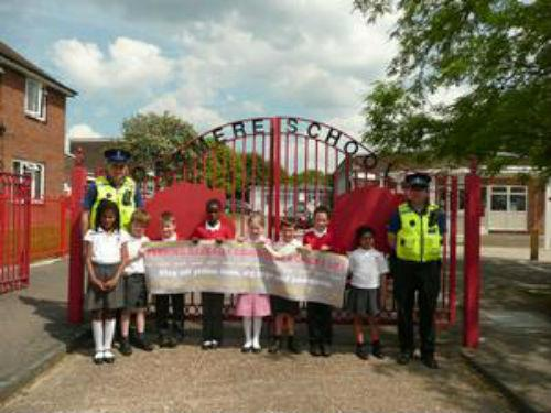 Children taught about dangers of erratic parking
