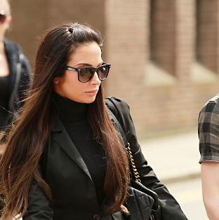 Singer Tulisa Contostavlos, 25, denies an assault charge