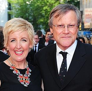 David Neilson and Julie Hesmondhalgh took a handful of gon