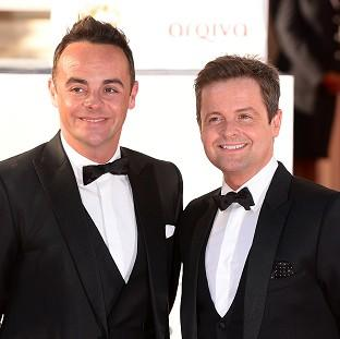 Times Series: Ant and Dec took it in turns to take over when Simon Cowell missed a show