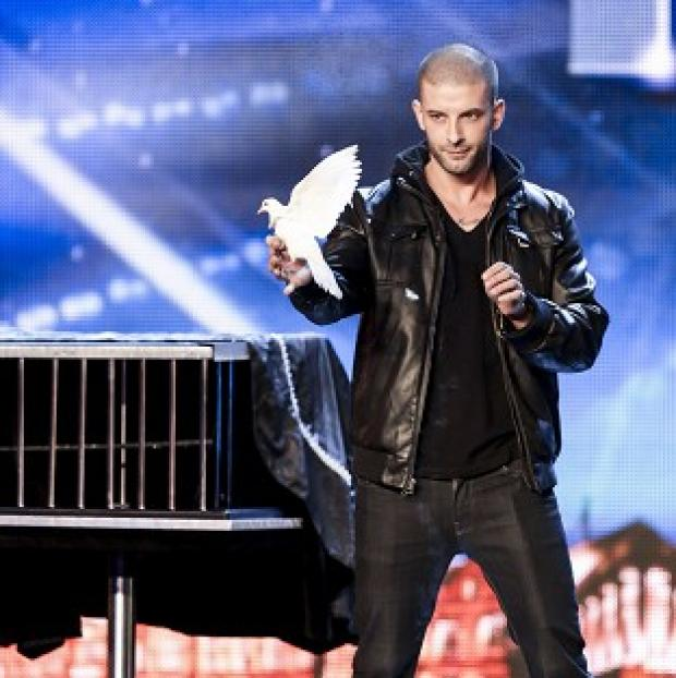 Times Series: ITV handout photo of Darcy Oake during the auditions for Britain's Got Talent.