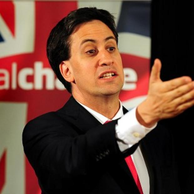 "Times Series: Ed Miliband said leaving the European Union was ""not the answer""."