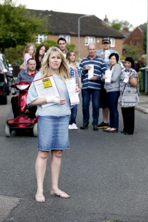 Serena Wilson and other neighbours began receiving valueless parking fines in May