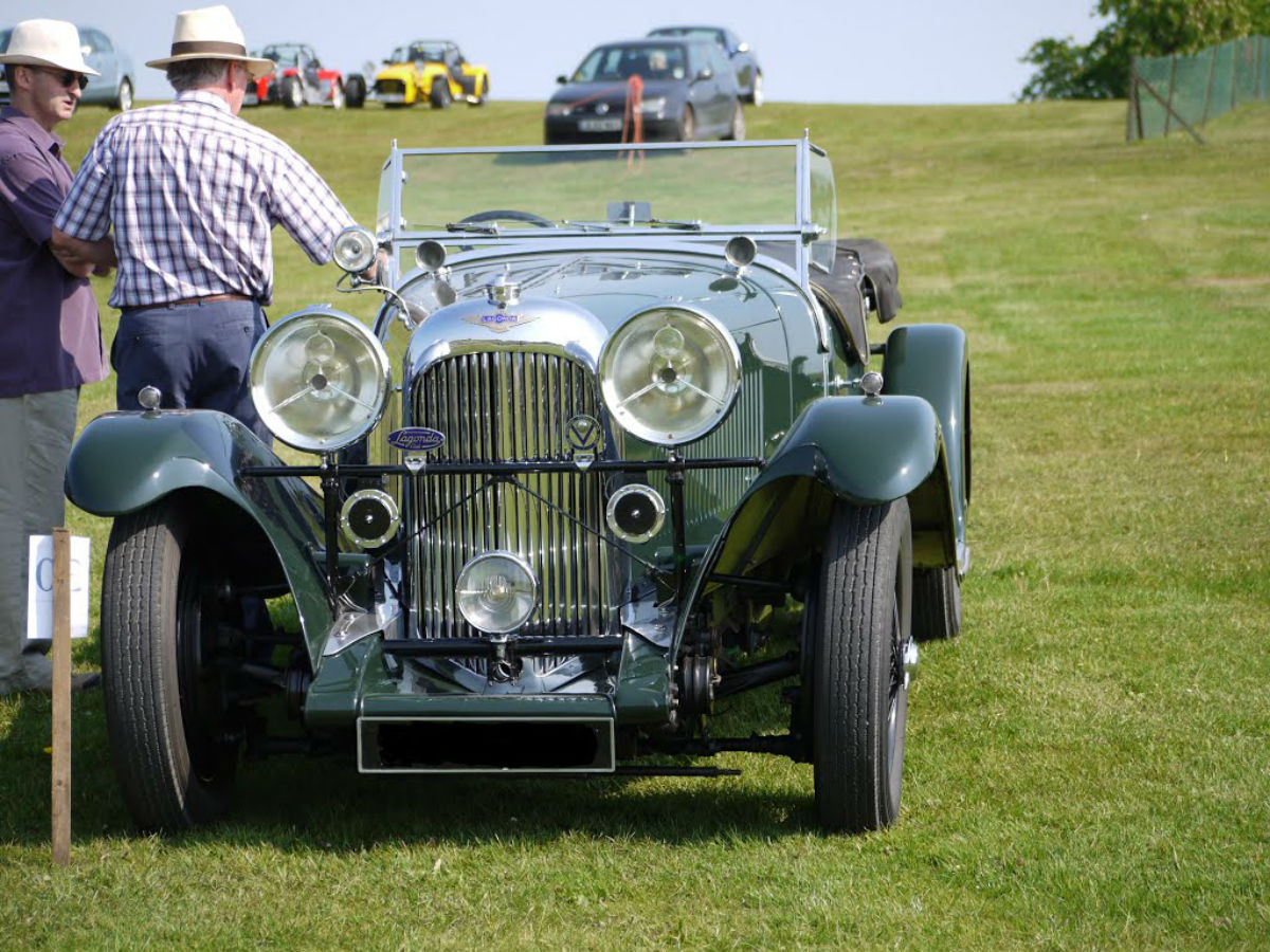 Classic car show is a hit with motor fanatics