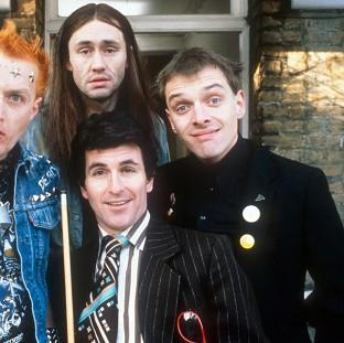 Times Series: A post-mortem will be carried out on Rik Mayall (right).