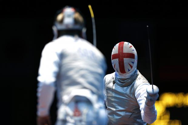 James Davis in action for Team GB at the 2012 London Games. Picture: Action Images