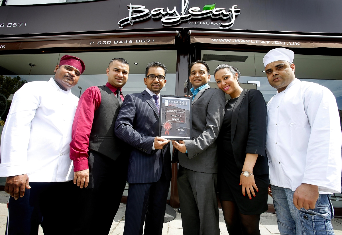 Curry house up for House of Commons award
