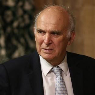 Business Secretary Vince Cable was forced to deny he was part of a plot to oust Nick Clegg
